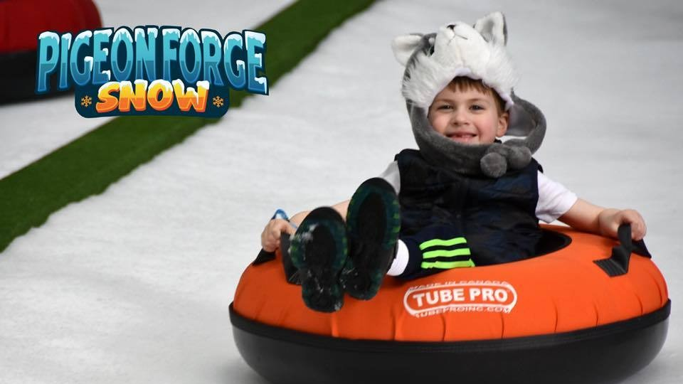 Rain or shine...play in Pigeon Forge Snow!