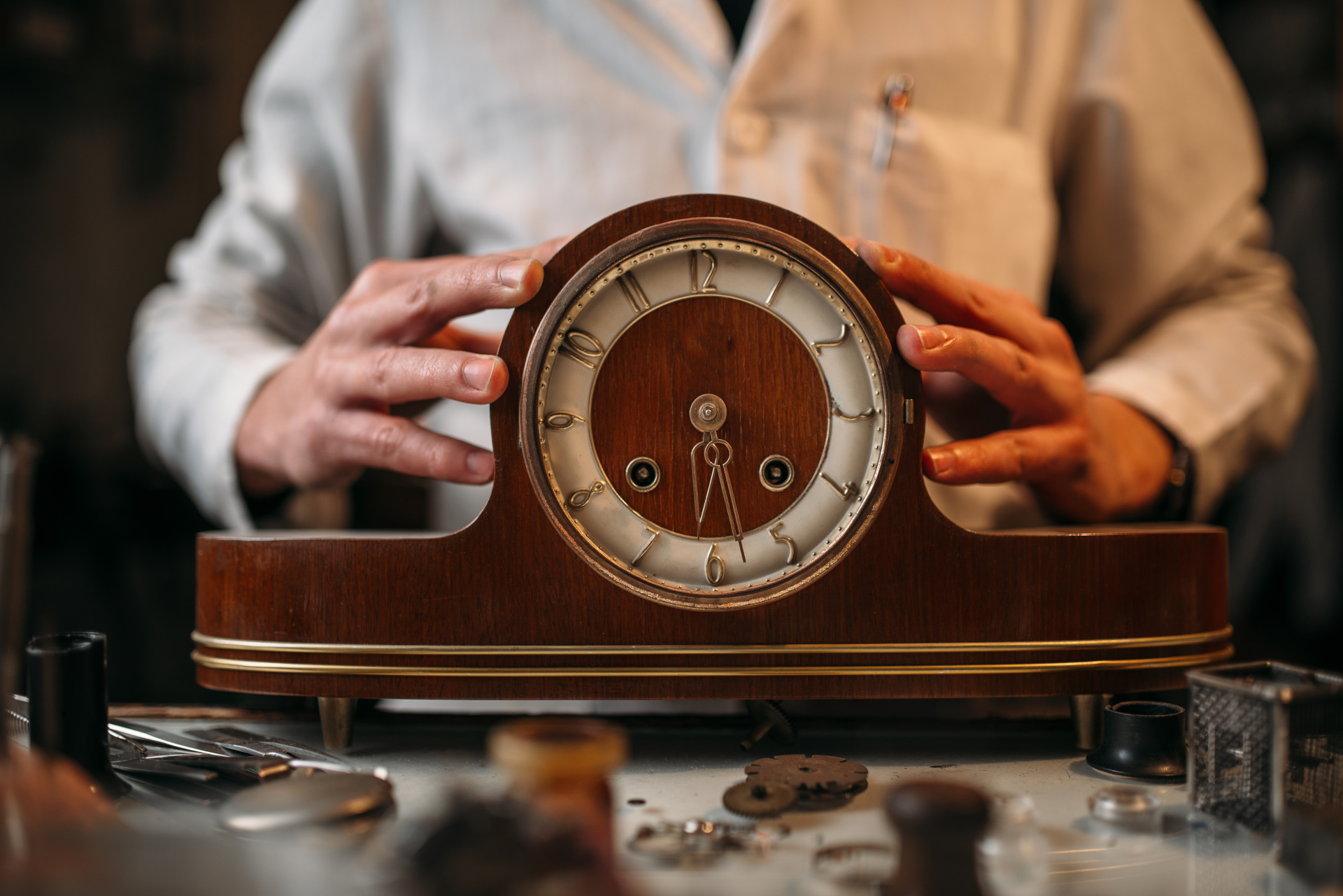Aging Can Be Like Fixing An Old Clock