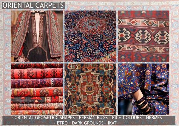 Textile candy, print trends, trend forecasting service, trend prediction, premiere vision paris, premiere vision report, review, wearepremierevision, oriental carpets