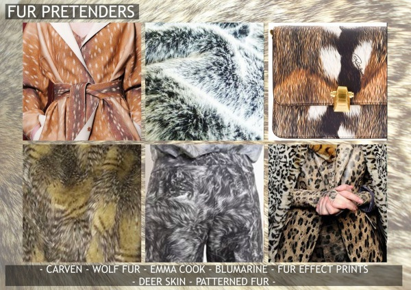 Textile candy, print trends, trend forecasting service, trend prediction, premiere vision paris, premiere vision report, review, wearepremierevision, fur texture, printed fur, animal skin