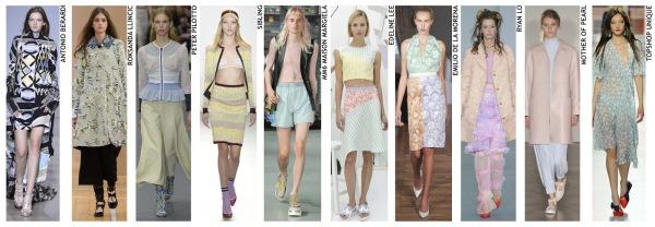 womenswear trend, print trend, fashion trend, catwalk analysis, runway review, Spring/Summer 2016, SS16, London fashion week, New York fashion week, Paris fashion week, Milan fashion week, pastel, sugared pastels