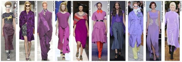 womenswear trend, print trend, fashion trend, catwalk analysis, runway review, Spring/Summer 2016, SS16, London fashion week, New York fashion week, Paris fashion week, Milan fashion week, purle