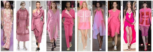 womenswear trend, print trend, fashion trend, catwalk analysis, runway review, Spring/Summer 2016, SS16, London fashion week, New York fashion week, Paris fashion week, Milan fashion week, fuschia