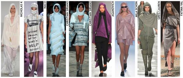 womenswear trend, print trend, fashion trend, catwalk analysis, runway review, Spring/Summer 2016, SS16, headscarf fashion, arabic fashion