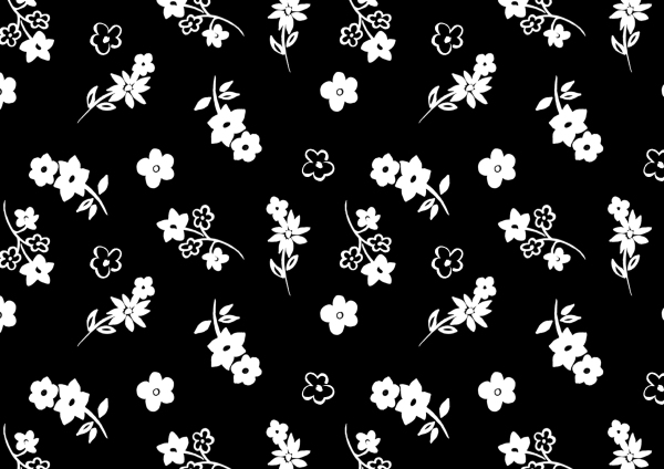 FLOWER SILHOUETTE, OUTLINE PRINT, FLORAL OUTLINE, FLORAL STENCIL, STENCIL PRINT