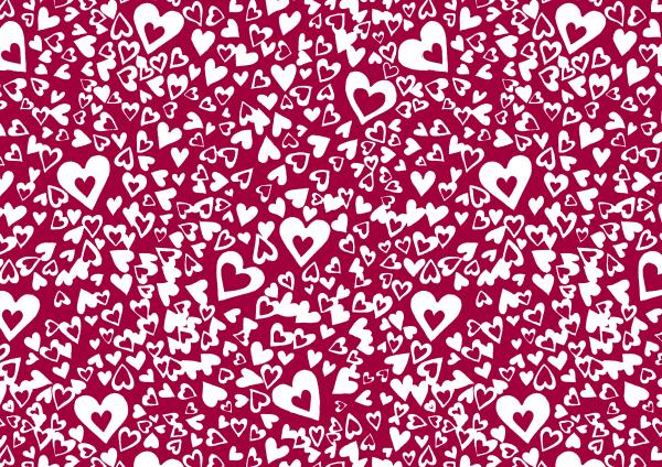STELLA HEART, HEART PRINT, VALENTINES PRINT, ARTWORK