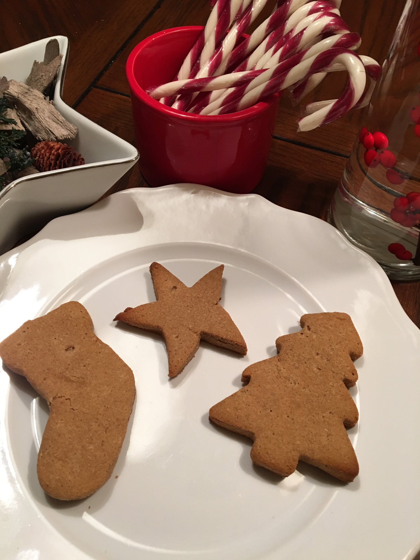Jolly Gingerbread Cookies