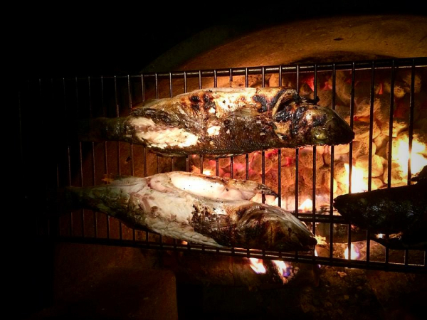 Whole Grilled Branzino, Taste of Home, Camping Food, Grilling, Camping experiences