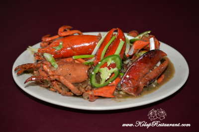 Lobster with Ginger Scallion