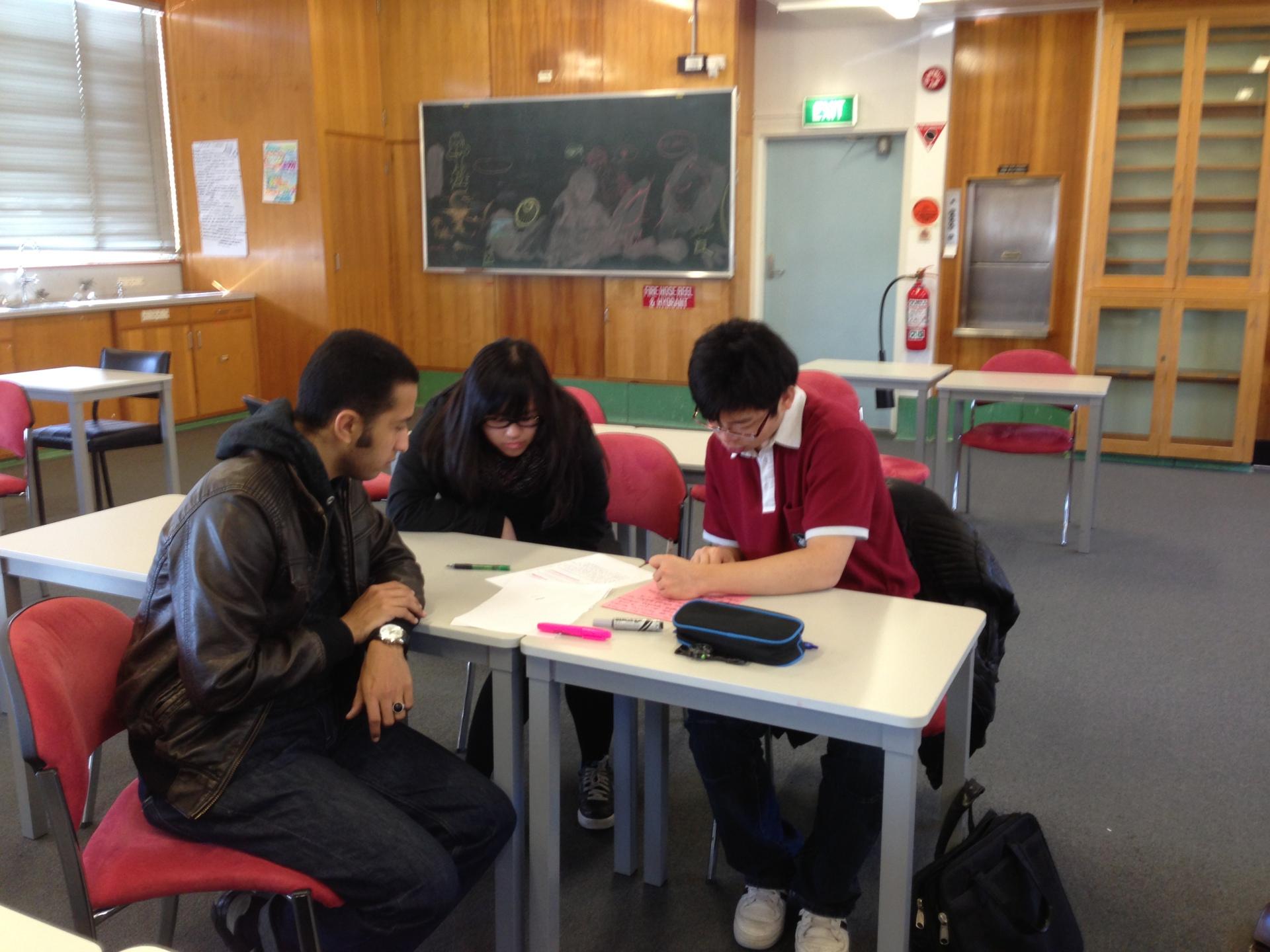 Pre university student workshop on business