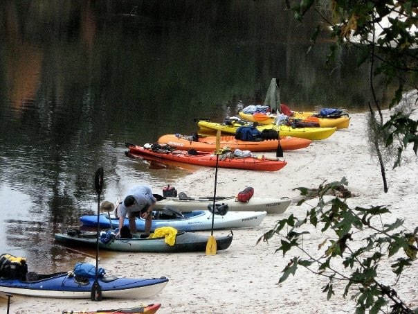 Suwannee, Florida, kayaking, camping