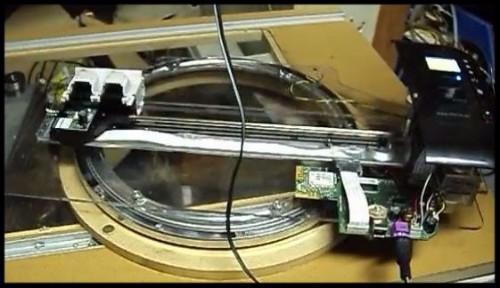 Ink Jet rotary printer