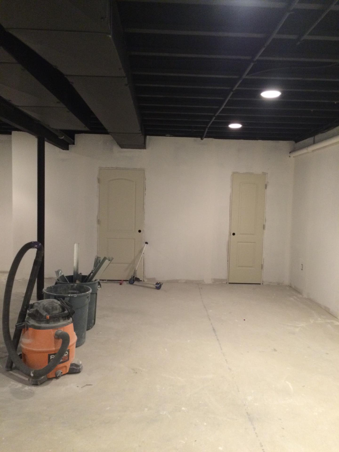 Sheetrock and Doors