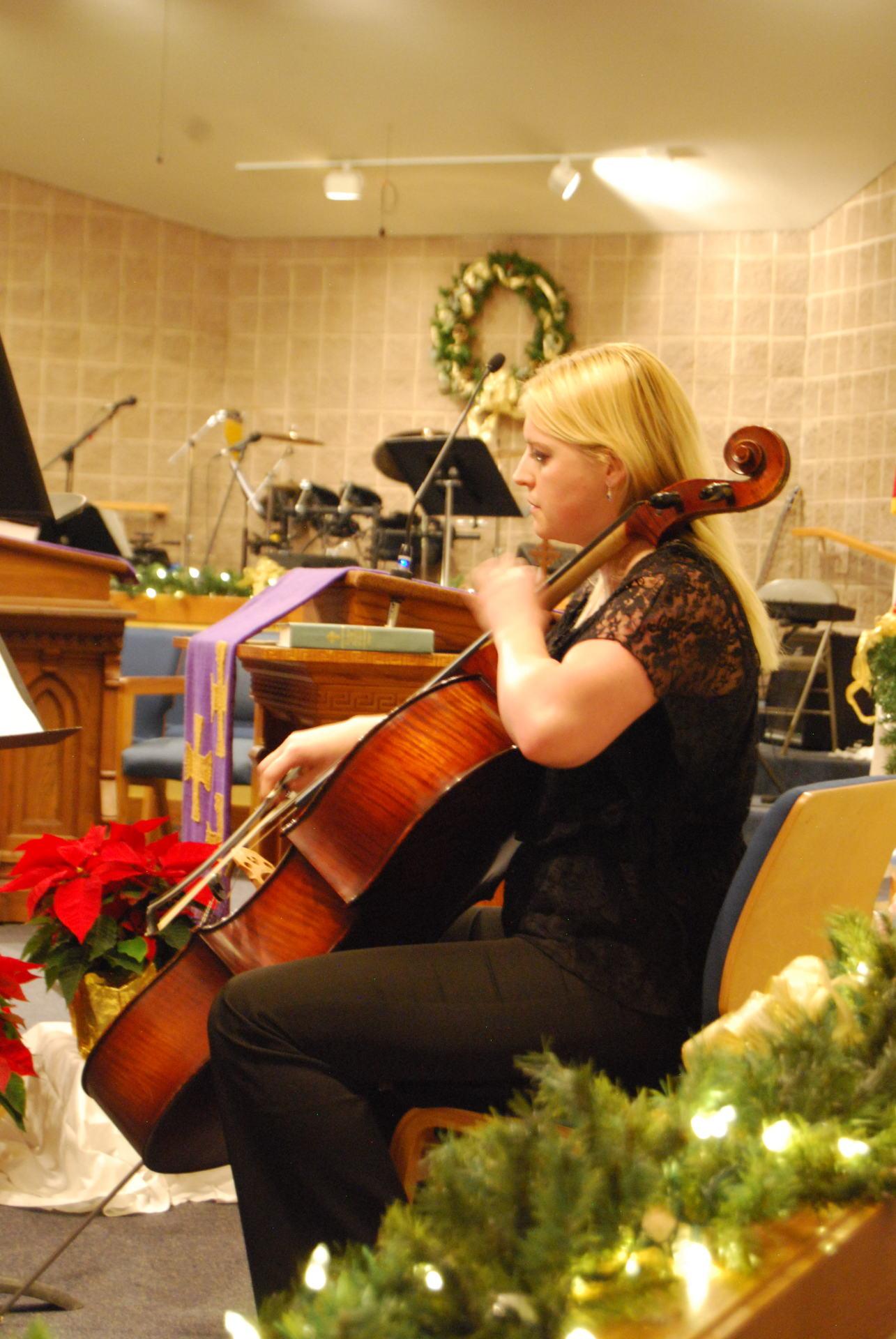 Bella Prima Musica Instrumentalist Christmas Concert