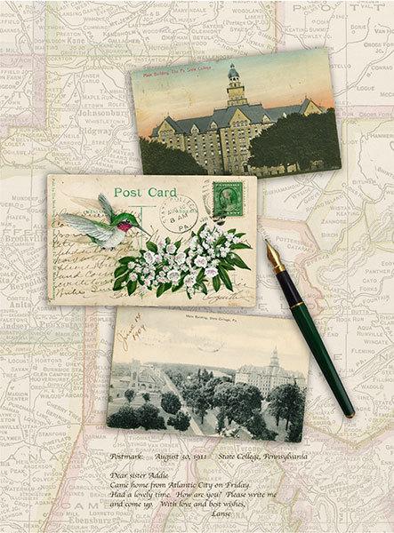 """Dear Sister Addie - 1911 State College, Pennsylvania"""