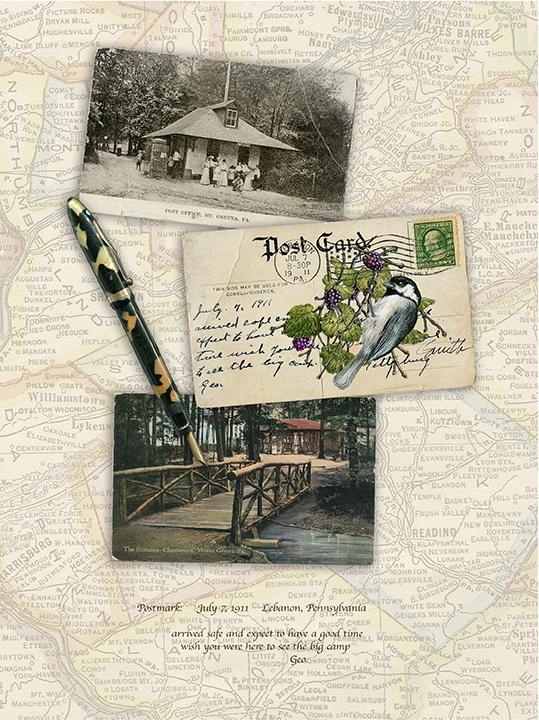 """THE BIG CAMP-1911 Mount Gretna , Pennsylvania"