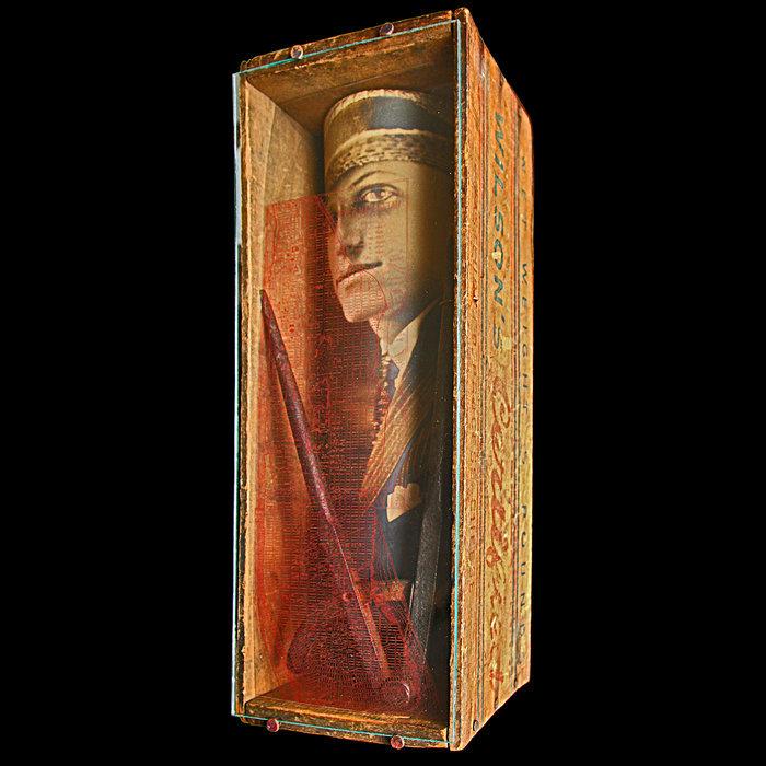 """1920's BUSINESSMAN IN A BOX"""