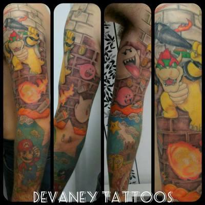 Mario sleeve :)