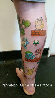 Nintendo vs sega leg piece unfinished picture