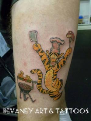 BBQ tiger