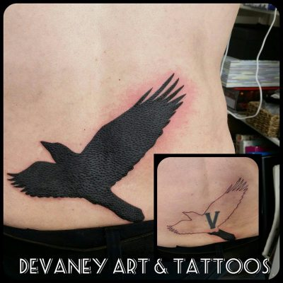cover up work