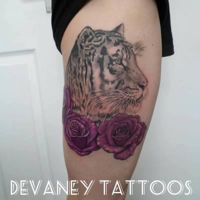 finished Tiger part healed