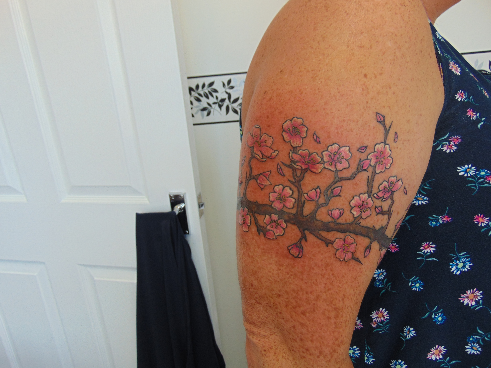 cover up complete part healed