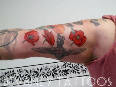 added some poppies to this piece