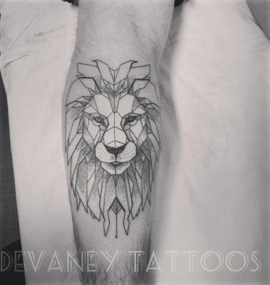 finished lion