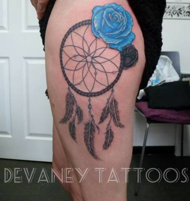 finished dream catcher part healed