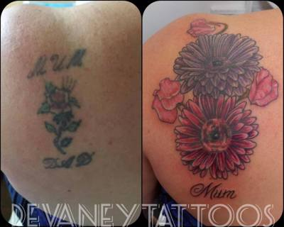 cover up complete part healed :)