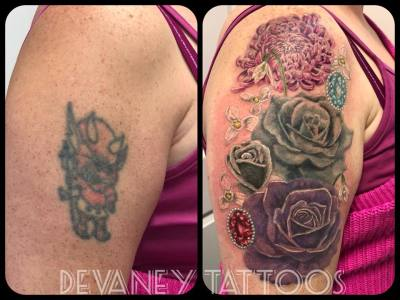 finished cover up