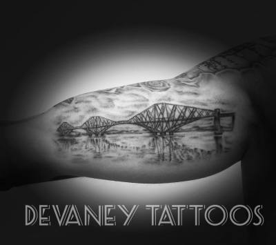 forth bridge inner arm piece