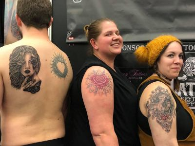 all 3 tattoos from Amsterdam Tattoo convention