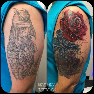in progress cover up
