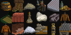 Art assets for a strategy game