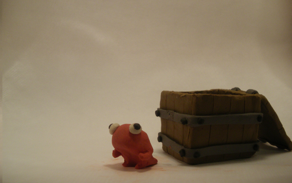 """Splat"" claymation"