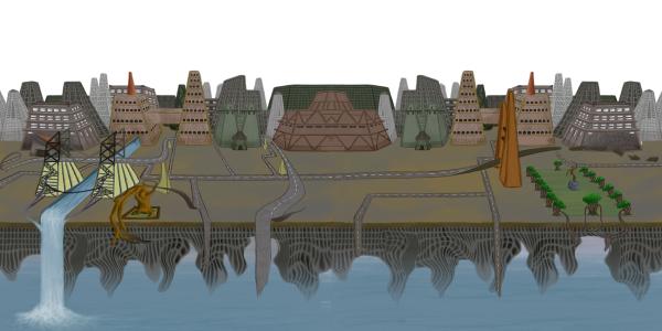 Skybox for a 3D platformer