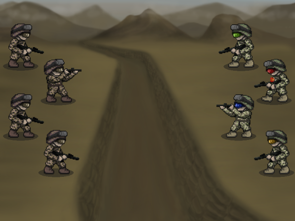 Army JRPG-style concept