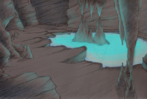 Concept for a cave location