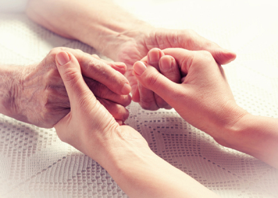 Caring, hands