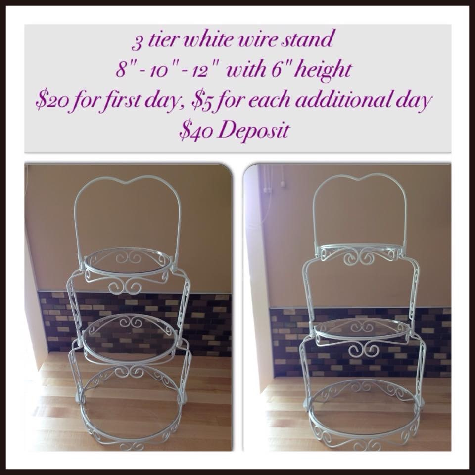 Item #19 Wire Stand $10