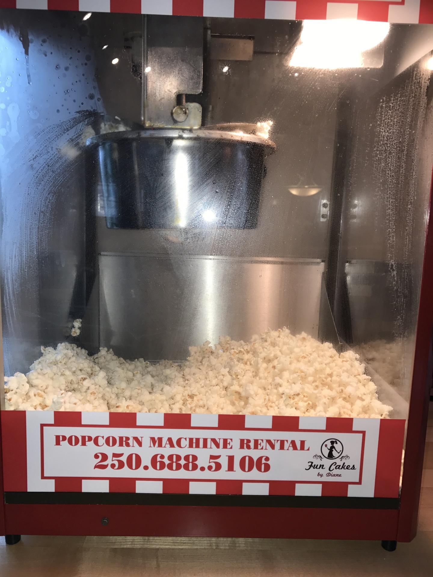 Popcorn Machine $50