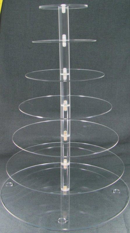 Item #4 Acrylic Cupcake Tower $50