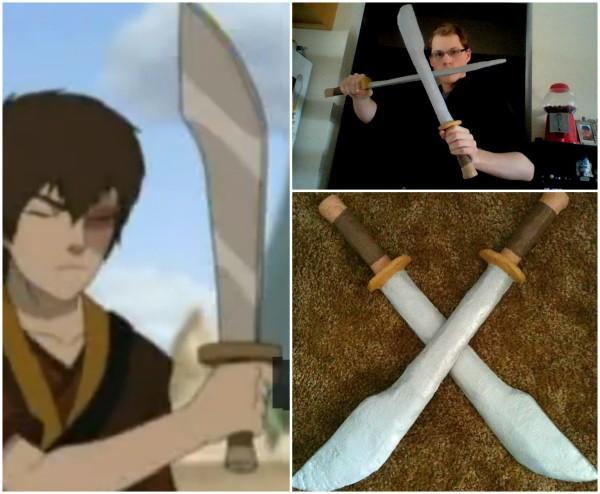 Zuko's swords