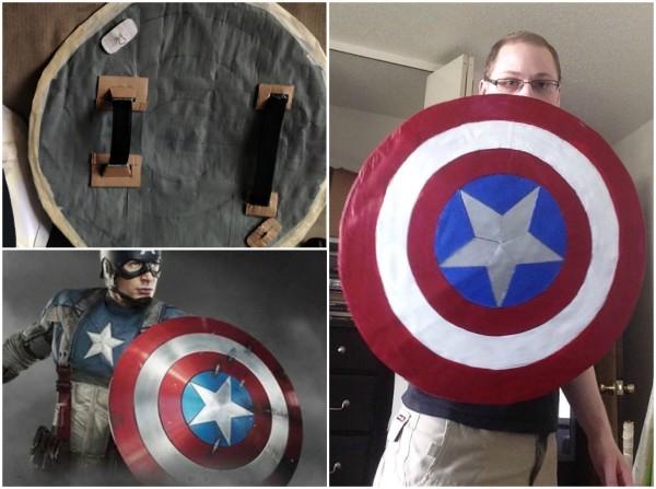 Roger, Vibreanium, Capt, Captain America