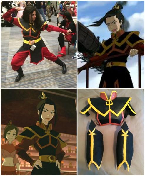 Azula's Armor