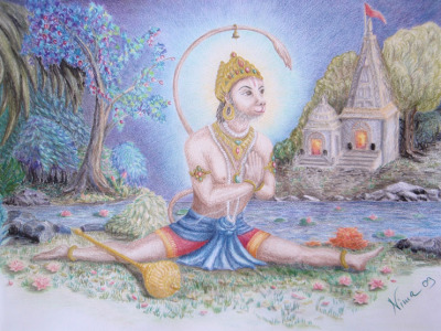 Hanumanasana: Preparing for the Leap