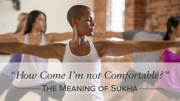 """How Come I'm Not Comfortable?"" The Meaning of Sukha"