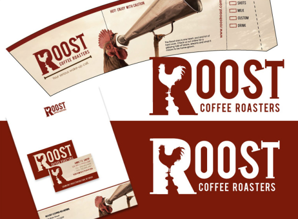 Roost Coffee Roasters Branding